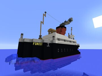 SS Forest Ferry Minecraft Map & Project