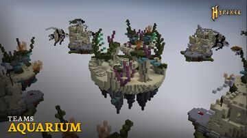 BEDWARS MAP HYPIXEL AQUARIUM FREE DOWNLOAD 1.8 - 1.16 Minecraft Map & Project