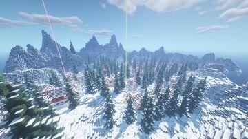 DMC Winter Christmas Event Minecraft Map & Project