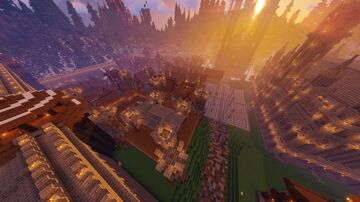 Medieval Village/Town       (Alpha)     Rollplay map Minecraft Map & Project