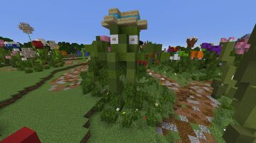 Live Plant on MagnaRisa Minecraft Map & Project