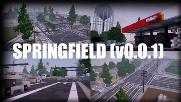 Springfield (v0.0.1) Minecraft Map & Project