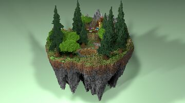 🌲 SKYBLOCK SPAWN - AliensBuilds 🌲 FREE 🌲 Minecraft Map & Project