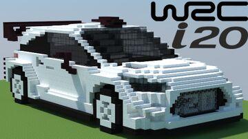 Hyundai i20 WRC 2018 Minecraft Map & Project