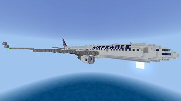 Air France Flight AF 447 Minecraft Map & Project