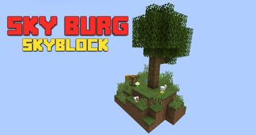 Sky Burg - skyblock BETA 1.0 ! for Minecraft 1.16.2 + versions Minecraft Map & Project