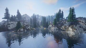 Small Taiga Biome Island Minecraft Map & Project