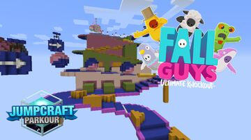 Fall Guys - Slime Clime Jumpcraft Parkour Map Minecraft Map & Project