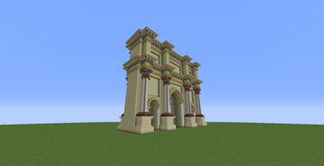 Roman Arch Minecraft Map & Project