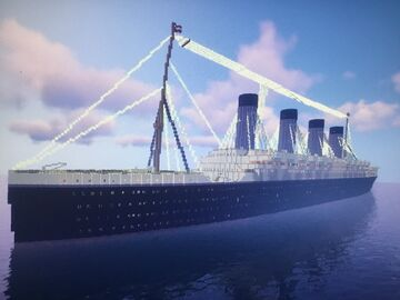 RMS Ludell Minecraft Map & Project