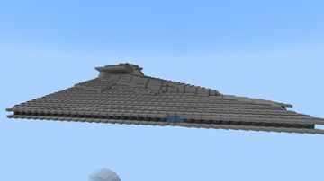 Gladiator class Star Destroyer 1/5 scale Minecraft Map & Project