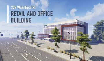Realistic Office Building - 228 Wakefield St Minecraft Map & Project