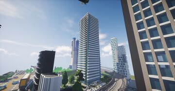 U Condominium (Toronto, Canada) Minecraft Map & Project