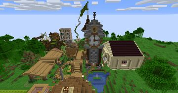 My Museum of Classic Movie Monsters on MCAtlas Minecraft Map & Project