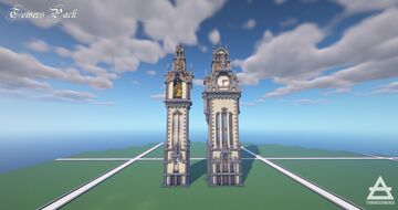 Towers Pack Minecraft Map & Project