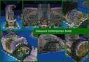 Solarpunk Contemporary Builds Minecraft Map & Project