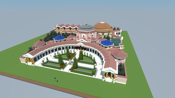 Palace of Antiochos Constantinople Minecraft Map & Project