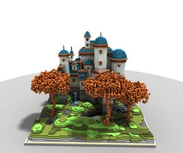 The imaginary castle Minecraft Map & Project