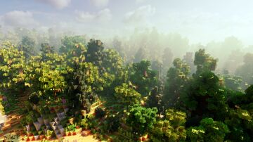 Forest Path (Bedrock & Java Download!) Minecraft Map & Project