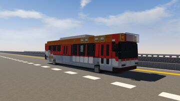 Grand Theft Auto V Bus Minecraft Map & Project