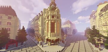 Paris Minecraft Map & Project