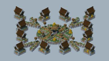 Skywars Mediaval Map 1.8 + Download!! Minecraft Map & Project
