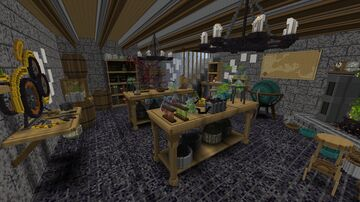The Artificer's Study Minecraft Map & Project