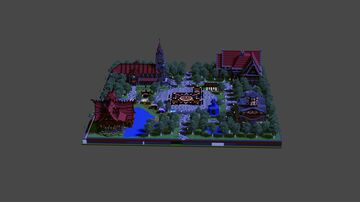 Medival Spawn Minecraft Map & Project
