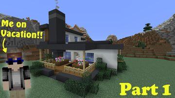 Modern Mansion! Minecraft Map & Project