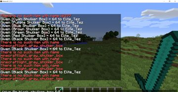 1.11.2 Illegally Stacked Items Minecraft Map & Project