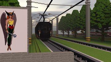 Tram Granite and Hawkgirl Minecraft Map & Project