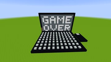 Geforce's Gaming Computer (Game Over) Minecraft Map & Project