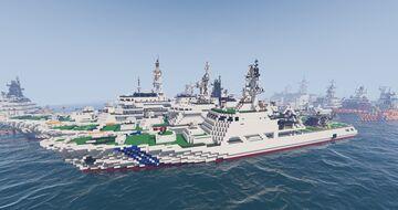 Japan coast guard Hateruma-class patrol vessel Minecraft Map & Project