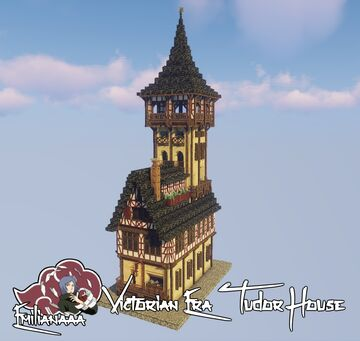 Victorian Era Tudor House #4 Minecraft Map & Project