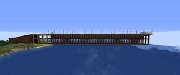 Ashland Ore Dock/ Soo Line Ore Dock Minecraft Map & Project