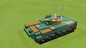 Russian BMPs 1, 2, and 3 along with Khrizantema-S Minecraft Map & Project