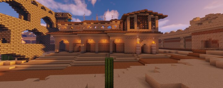 Popular Server Map : Roman Bath House