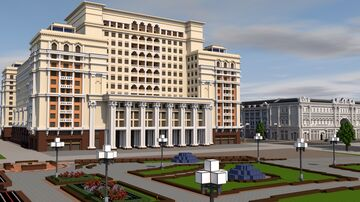 Hotel «Moscow» Minecraft Map & Project