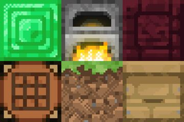 Texture-pack Museum || Texture-pack Viewer 1.16 Minecraft Map & Project