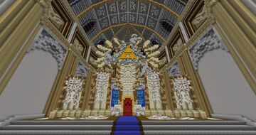 The Legend of Zelda Twilight Princess Throne Room Minecraft Map & Project