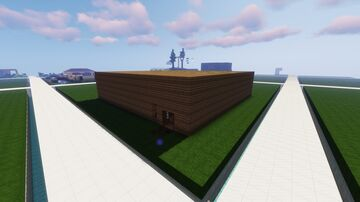 Rustic Spruce Creative Building Minecraft Map & Project