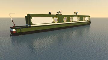 Narrowboat Minecraft Map & Project