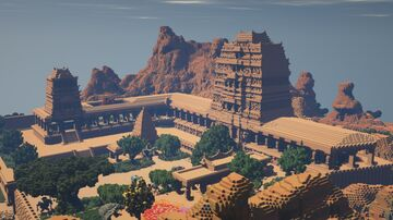 Temple - By Yamichetan Minecraft Map & Project