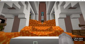 Floor IS LAVA Minecraft Map & Project