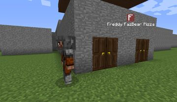 Five Nights At Freddy Map Modded Project Minecraft Map & Project