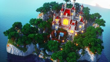 The Lost Castle Island Minecraft Map & Project