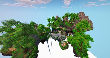Spawn / Hub Skyblock Minecraft Map & Project