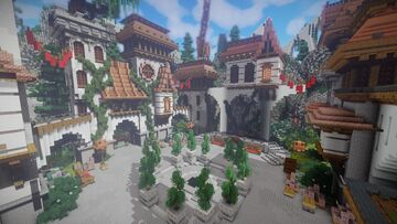 HUB/LOBBY/SPAWN FOR SERVER OR NETWORK 1.8 - 1.16 FREE DOWNLOAD Minecraft Map & Project