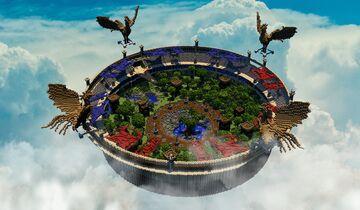 🔥 [351x351] MAP ARENA PVP COLISEUM ► PHOENIXBUILDS 🔥 Minecraft Map & Project