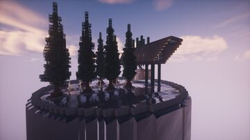 Art gallery for the warm season Minecraft Map & Project